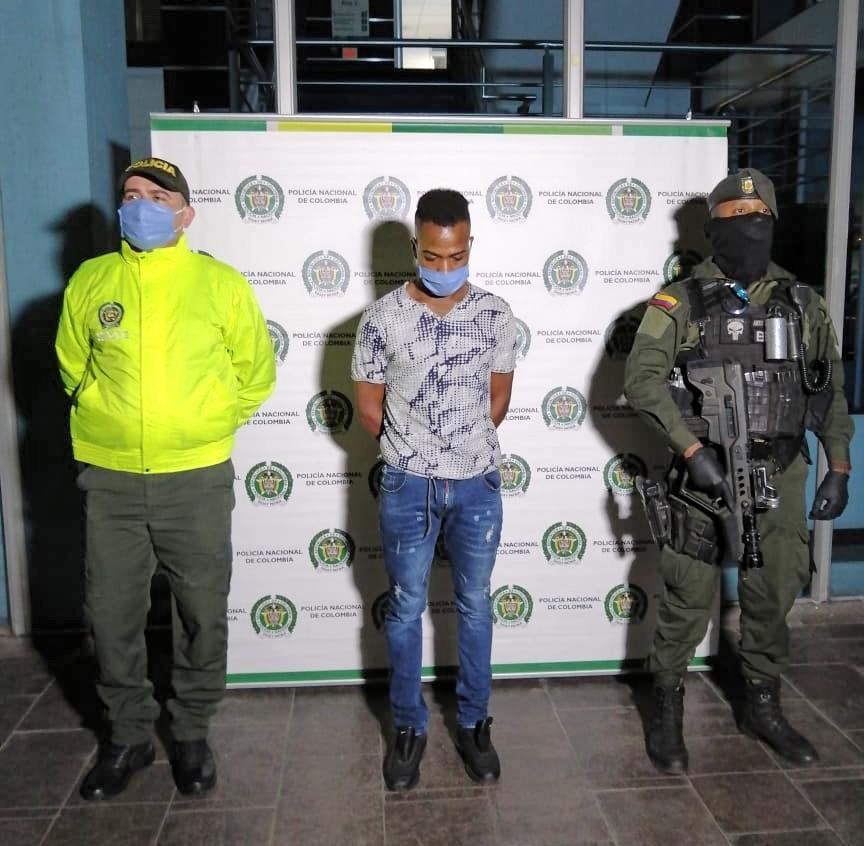 Alias Hernán, presunto cabecilla de grupo residual en el suroccidente del país, a la cárcel