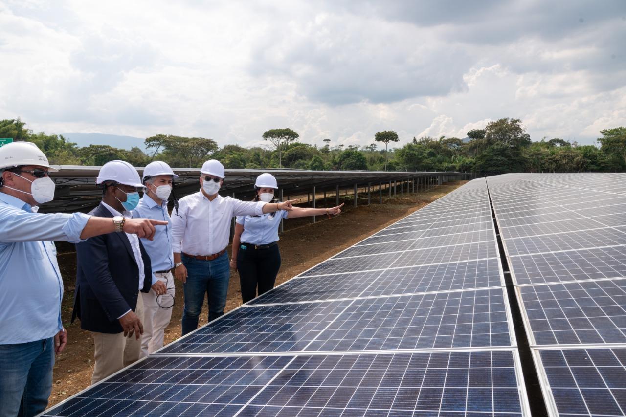Planta de autogeneración de energía solar en Santander de Quilichao