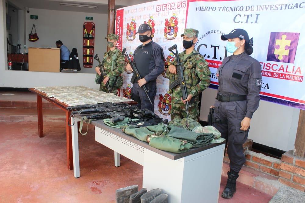 Cayo banda de traficante de armas