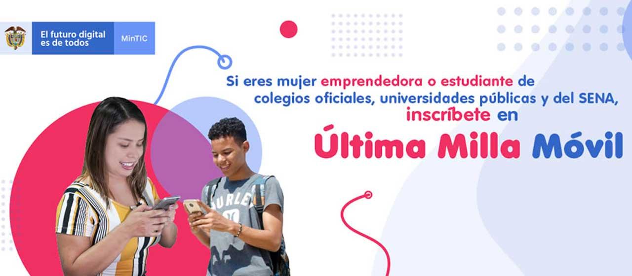 Internet y voz móvil gratis para 145.000 estudiantes y 20.000 mujeres emprendedoras del país, anunció la Ministra TIC, Karen Abudinen