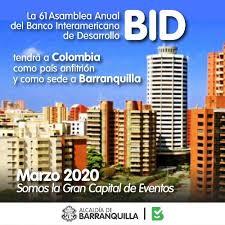 Barranquilla es sede de la Asamblea del Banco Interamericano de Desarrollo (BID) esta semana