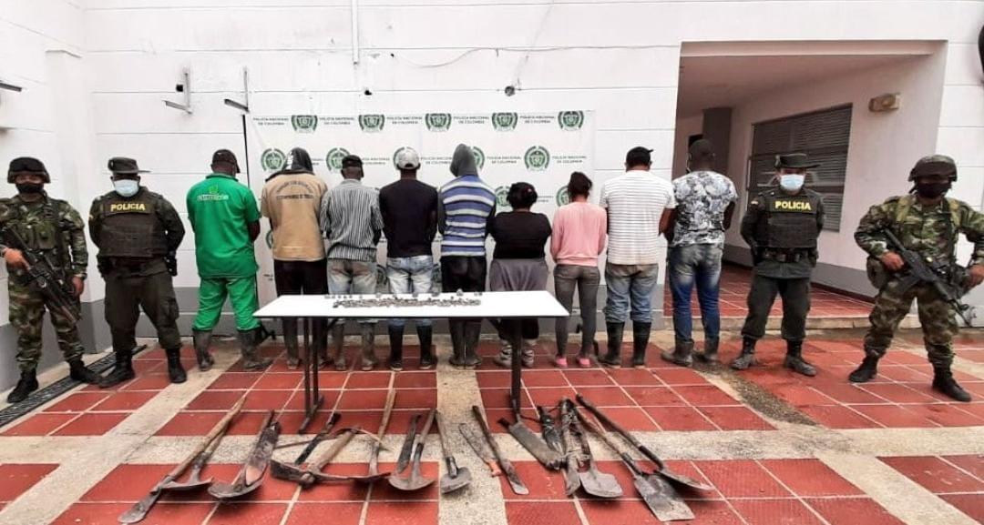 Investigadas 10 personas por explotación ilícita de minería que afecta los recursos naturales en el norte del Cauca