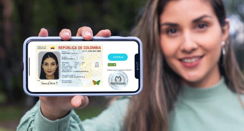 Cédula digital ubica a Colombia en el top 3 del último ranking de la OCDE