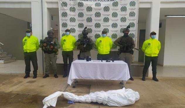Alias 'El Enano', cabecilla del 'Clan del Golfo', muere en operativos