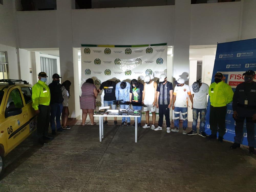 Desmantelado grupo delincuencial 'Los Tierreros' involucrado en 13 hechos delictivos en el norte del Valle del Cauca