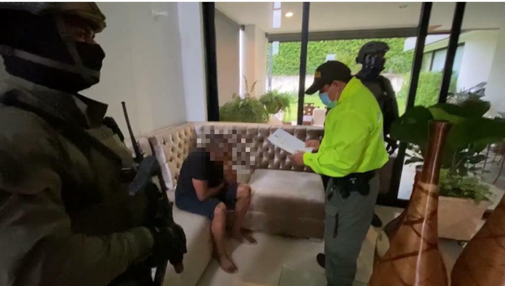 Capturado con fines de extradición Omar Ambuila
