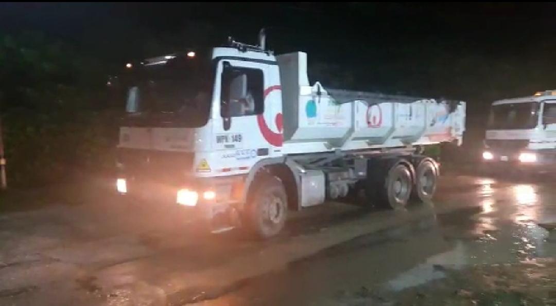Ciento ochenta toneladas der basuras de Palmira, movilizadas con éxito hasta el relleno sanitario