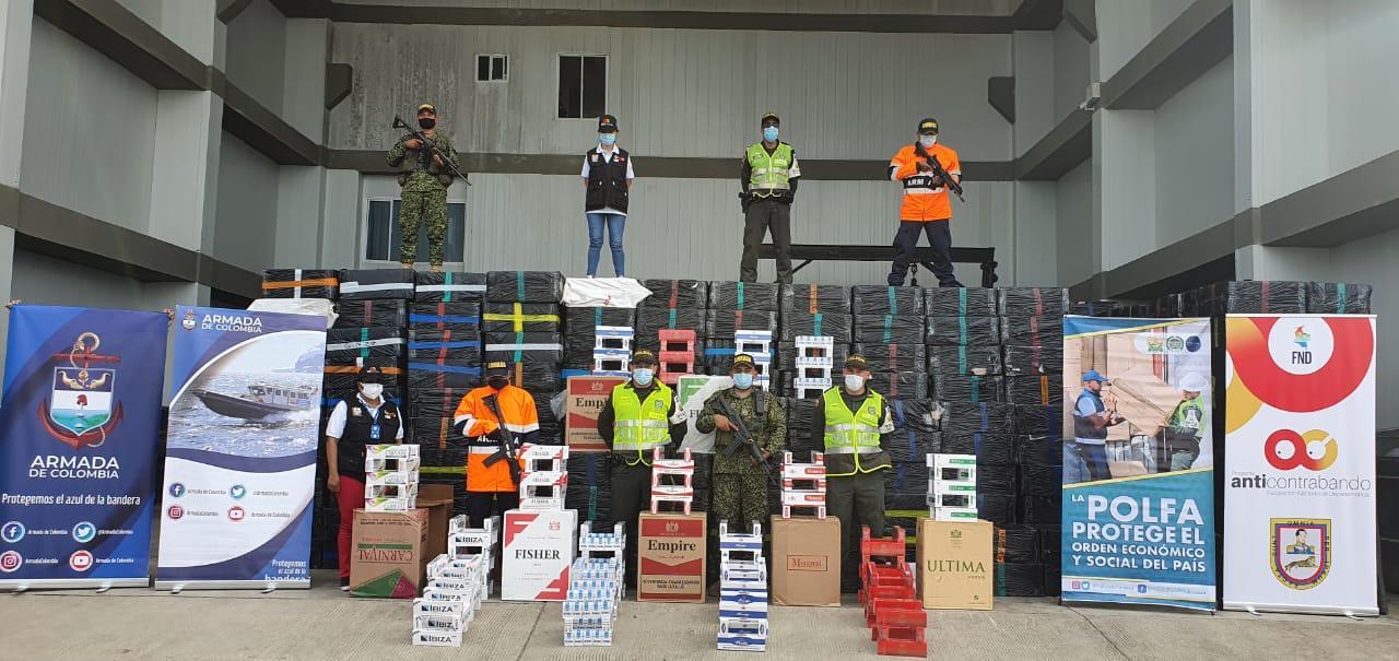 Desarticulada banda de contrabandistas