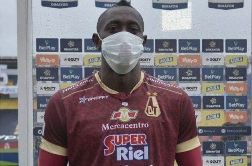 El primer gol que hice en Bogotá, le devolvió la confianza al Tolima: Juan Fernando Caicedo