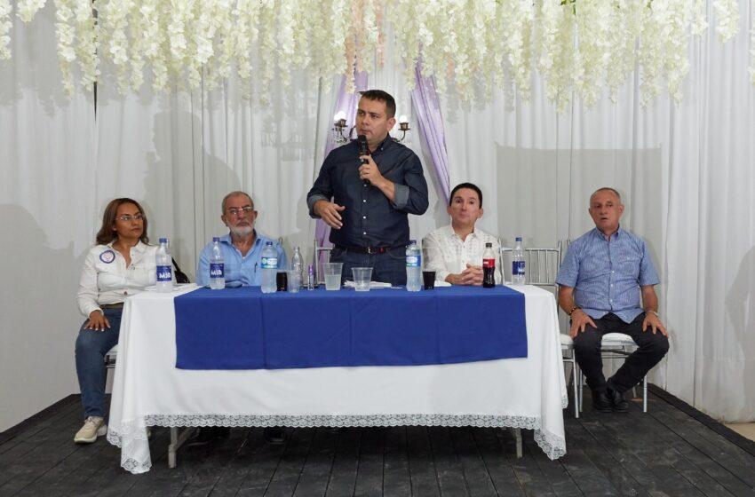 Partido Conservador en Palmira presento candidato al senado